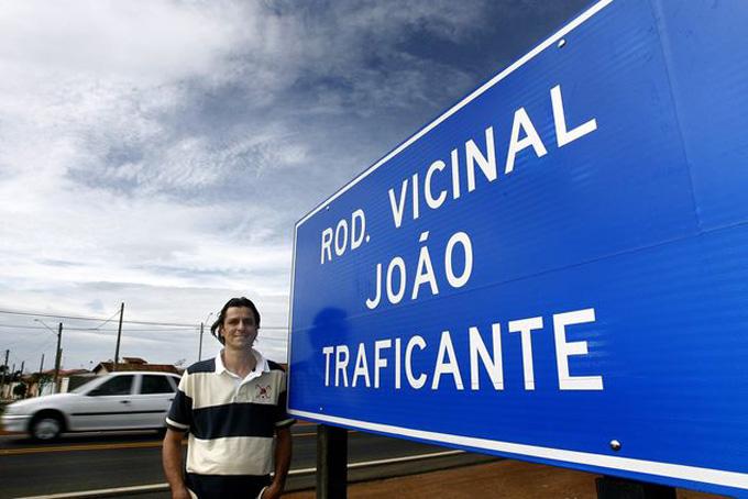 """Nome da vicinal """"João Traficante"""", de Franca gera curiosidade na região"""