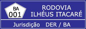 Trânsito Agora na Rodovia Ilhéus-Itacaré BA 001