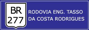 Trânsito Agora na Rodovia Eng. Tasso da Costa Rodrigues BR 277