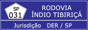 Rodovia Índio Tibiriçá SP 031