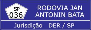 Trânsito Agora na Rodovia Jan Antonin Bata SP 036