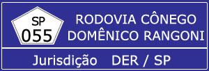 Câmeras Rodovia Cônego Domênico Rangoni SP 055