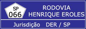 Rodovia Henrique Eroles SP 066