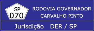 Rodovia Governador Carvalho Pinto SP 070