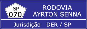 Trânsito Agora na Rodovia Ayrton Senna SP 070
