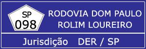 Trânsito Rodovia Dom Paulo Rolim Loureiro SP 098