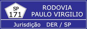 Trânsito Agora na Rodovia Paulo Virgilio SP 171