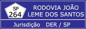 Trânsito Agora na Rodovia João Leme dos Santos SP 264