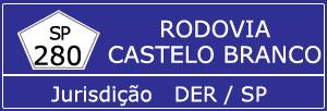 Trânsito Agora na Rodovia Presidente Castelo Branco SP 280