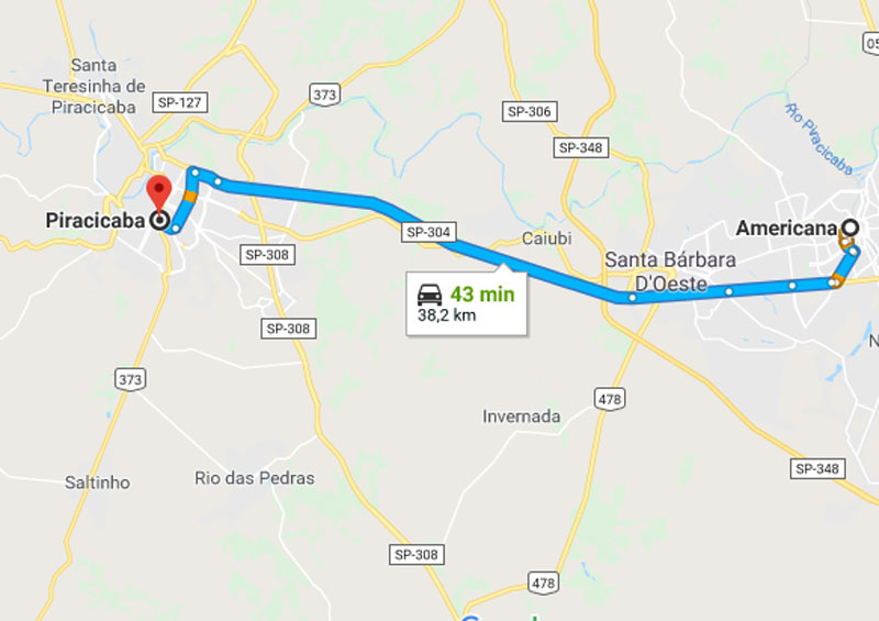 Trânsito Agora na Rodovia Luiz de Queiroz SP 304