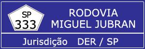 Trânsito Agora na Rodovia Miguel Jubran SP 333