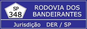Trânsito Agora na Rodovia dos Bandeirantes SP 348