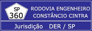 Trânsito Rodovia Engenheiro Constâncio Cintra SP 360