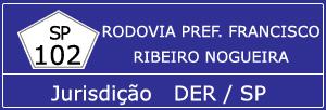 Câmeras Rodovia Prefeito Francisco Ribeiro Nogueira SP 102