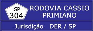 Trânsito Agora na Rodovia Cassio Primiano SP 304