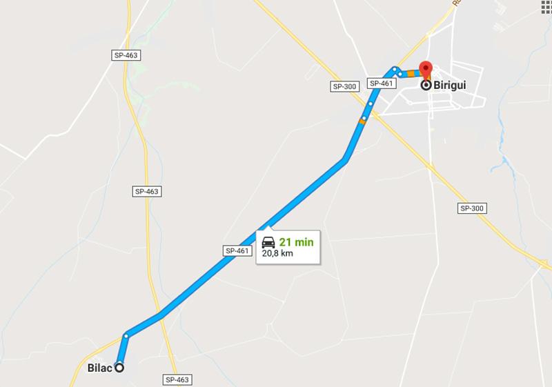 Trânsito Agora na Rodovia Gabriel Melhado SP 461